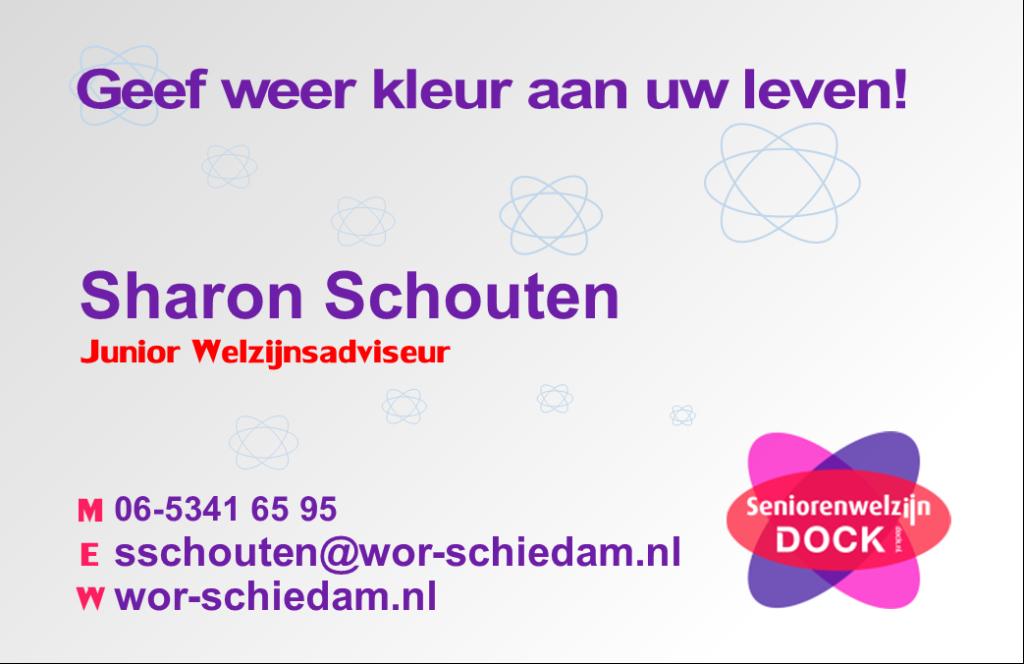 Sharon Schouten, junior Welzijnsadviseur