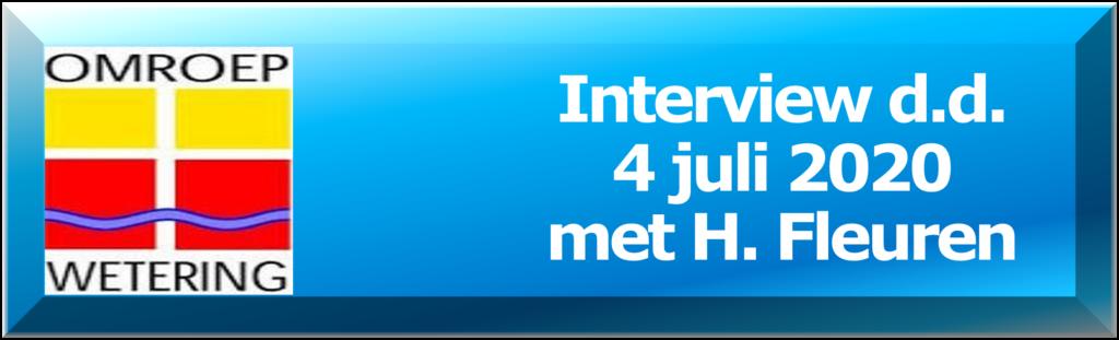 Interview Omroep Wetering met H. Fleuren